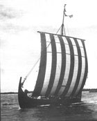 Viking ship Havorn