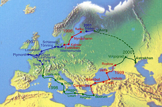 Route Of The Rus Project
